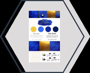 ungecovert - Buchcover und Branding Markenbildung Isla Golding Beispiel