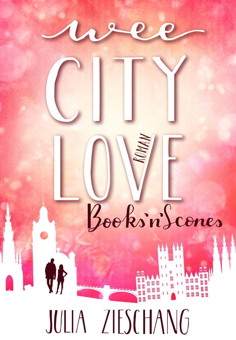 ungecovert - Buchcover und Branding Buchcover Wee City Love: Books'n'Scones - Julia Zieschang