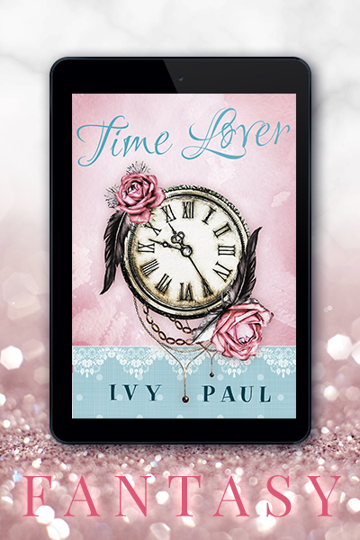 Portfolio Referenz Buchcover Time Lover - Ivy Paul