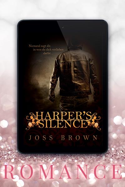 Portfolio Referenz Buchcover Joss Brown - Harpers Silence