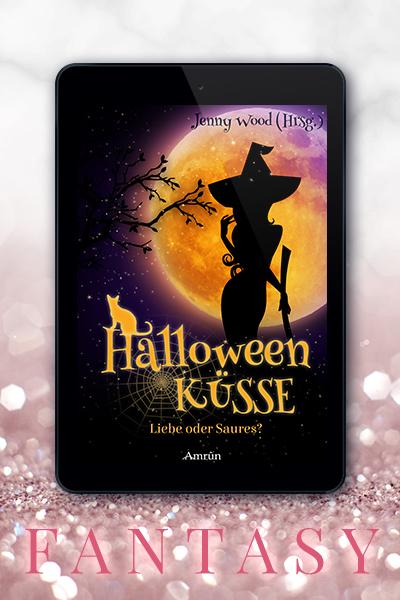 Portfolio Referenz Buchcover Halloweenküsse: Liebe oder Saures - Jenny Wood