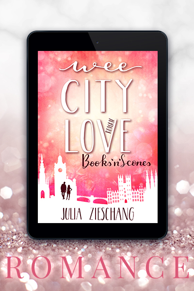 Portfolio Referenz Buchcover Wee City Love: Books'n'Scones - Julia Zieschang