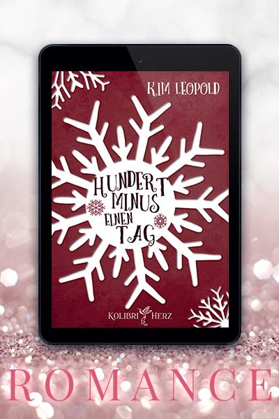 Portfolio Referenz Buchcover Hundert minus einen Tag - Kim Leopold