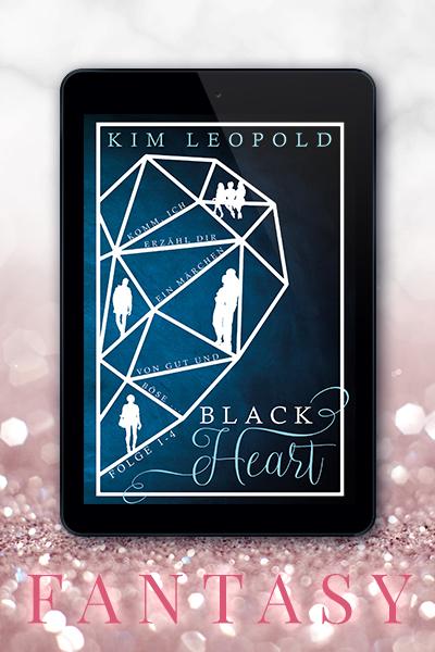 Portfolio Referenz Buchcover Black Heart Sammelband - Kim Leopold