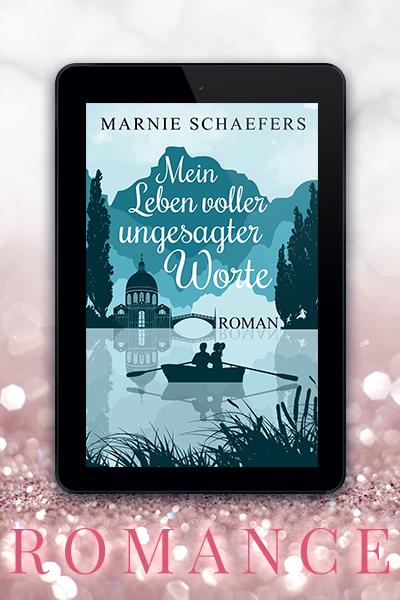 Portfolio Referenz Buchcover Mein Leben voller ungesagter Worte - Marnie Schaefers