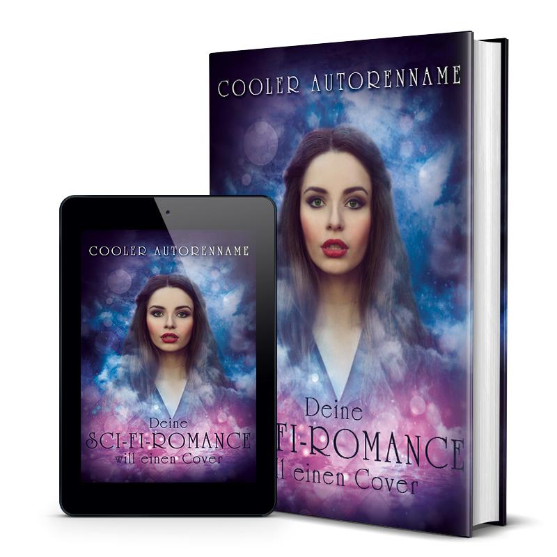 Premade Buchcover Fantasy Mock-Up
