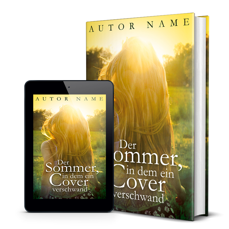 Premade Buchcover Young Adult Mock-Up