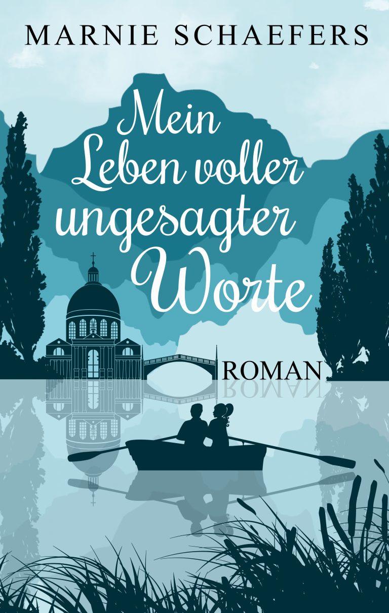 ungecovert - Buchcover und Branding Buchcover Mein Leben voller ungesagter Worte - Marnie Schaefers